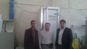بازدید تجار عراقی از رویشگر و صادرات اولین دستگاه علوفه رویشگر به بصره عراق