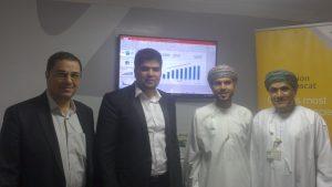 استقبال مدیر پارک علم و فناوری IPM عمان از رویشگر و مذاکرات با نماینده شرکت الاثراء سرمایه گذار بزرگ عمانی