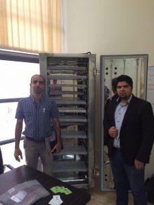 بازدید دکتر شهاب پور